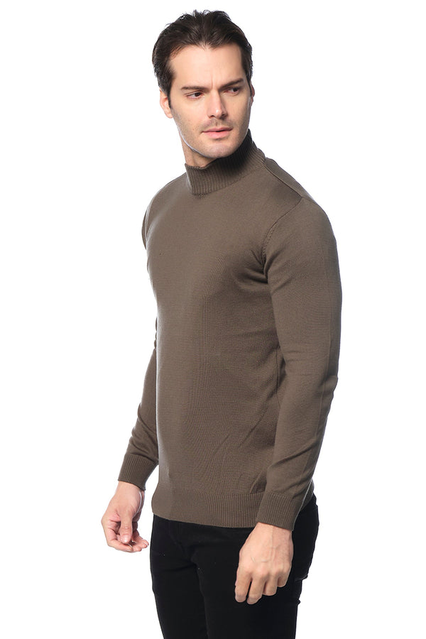 RT Mock-Neck SWEATER - GREEN - Ron Tomson ?id=15811470688341