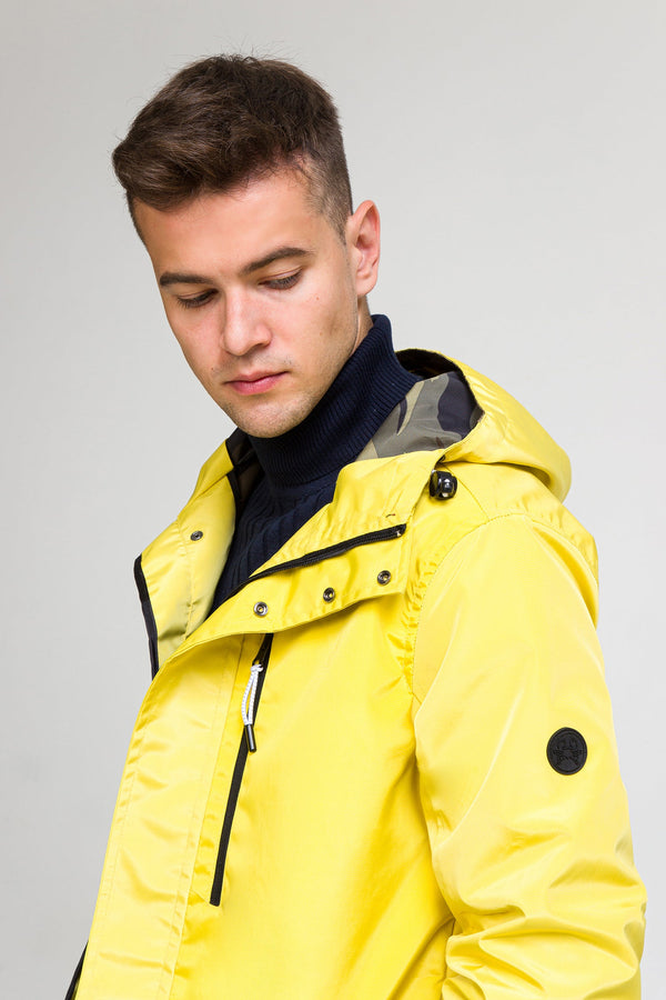 STOCKHOLM RAINCOAT II - ECRU YELLOW - Ron Tomson ?id=27929950290005