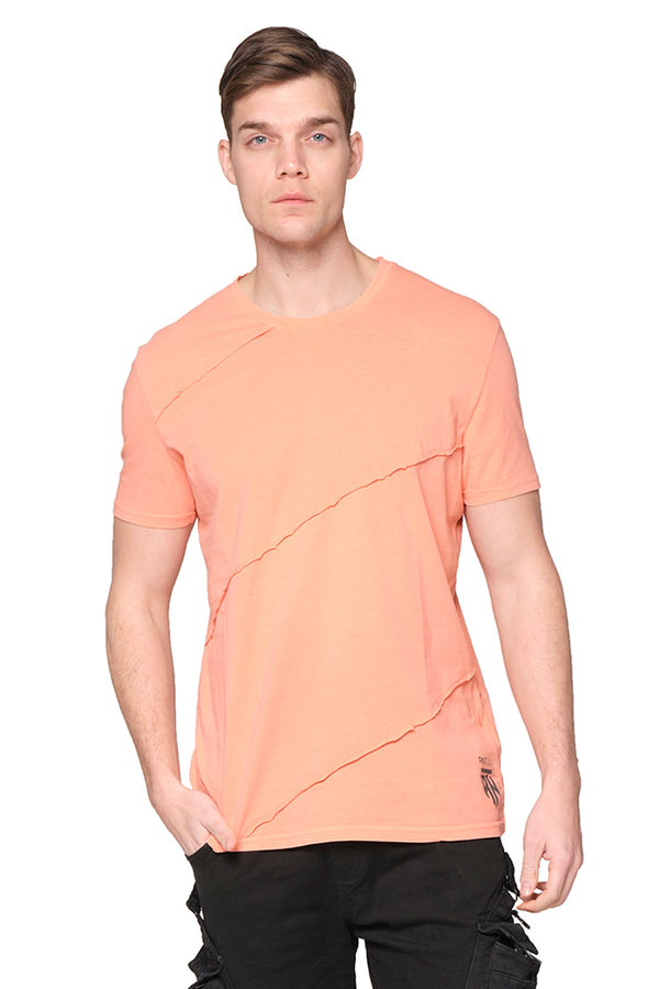 Scarred Cotton Tee - TILE - Ron Tomson ?id=27943908835413