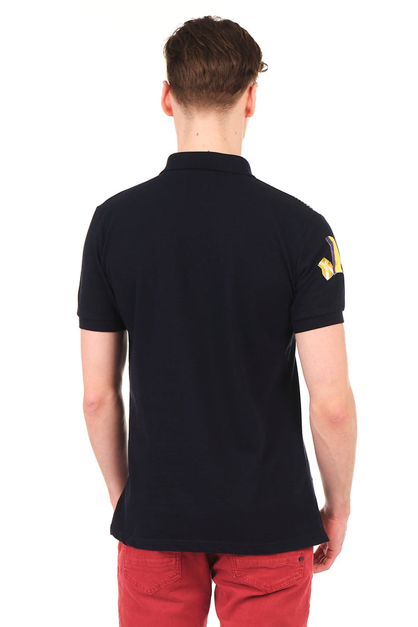 8129-NAVY POLO SHIRT