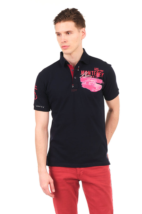 8130-NAVY POLO SHIRT