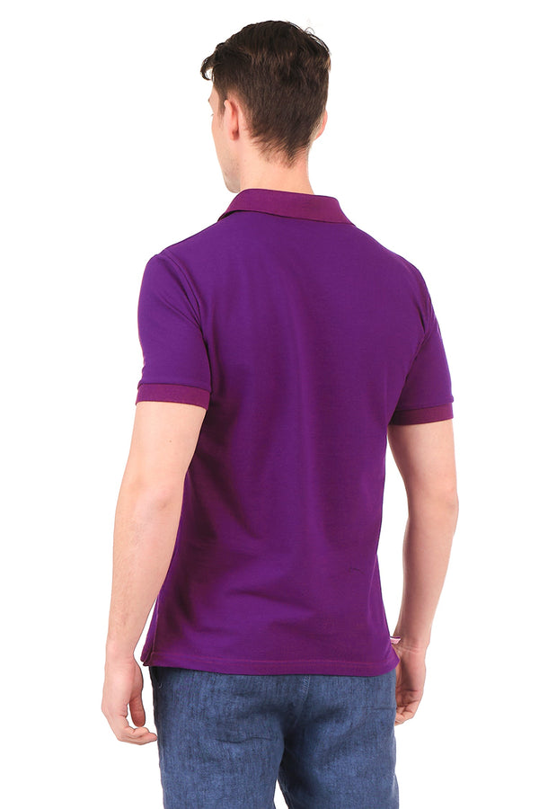 8131-PURPLE POLO SHIRT