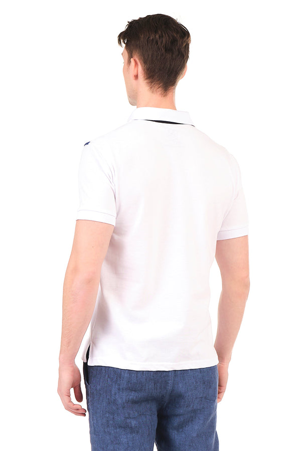 8131-WHITE POLO SHIRT