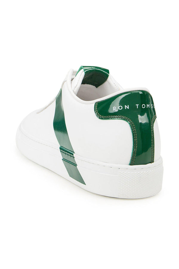 All Leather Court Sneakers  - WHITE FOX - Ron Tomson ?id=15023752314965