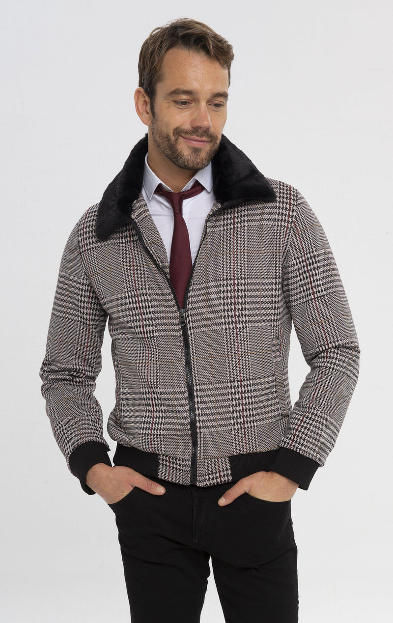 Anatolia Jacket - Bordeaux - Ron Tomson