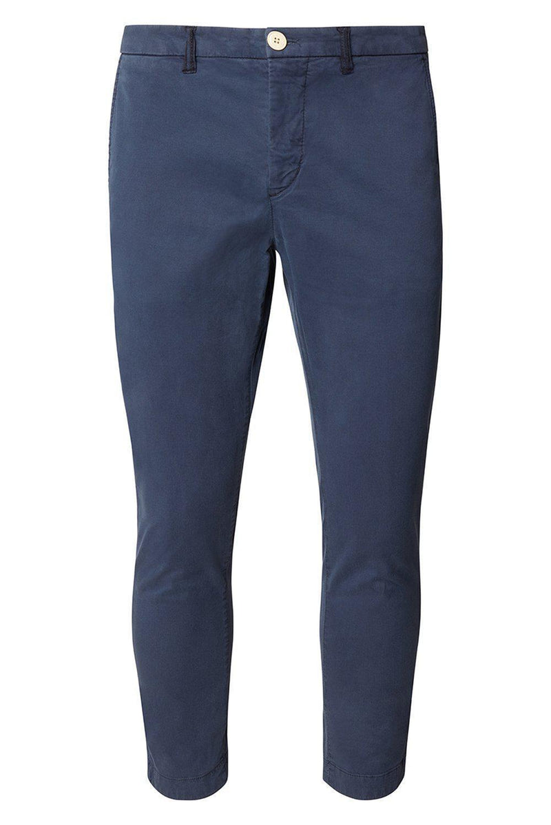 European Roll Up Ankle Casual Pants - Ron Tomson