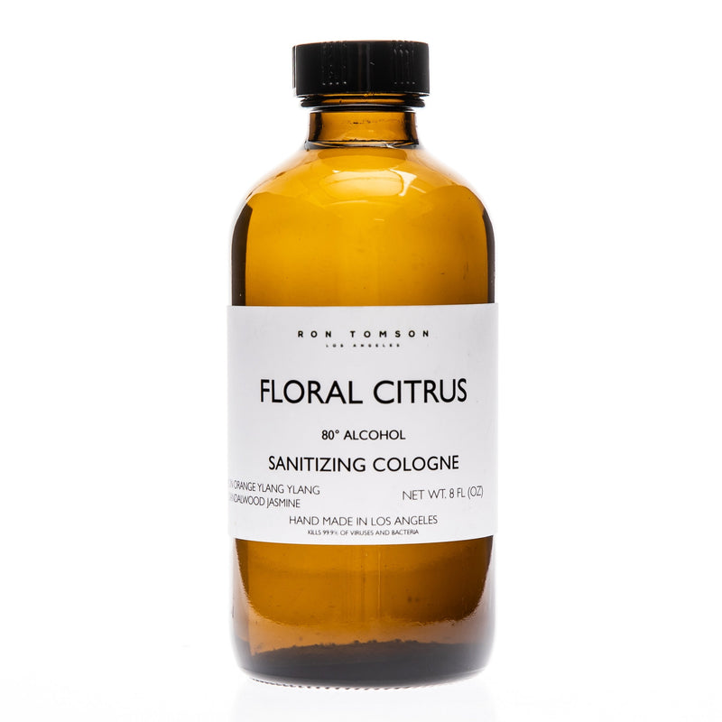 Floral Citrus Sanitizing Cologne - Ron Tomson