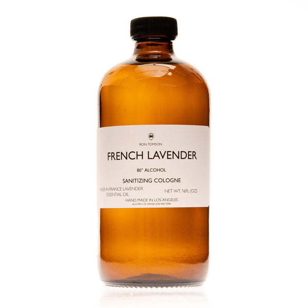 French Lavender Sanitizing Cologne - Ron Tomson