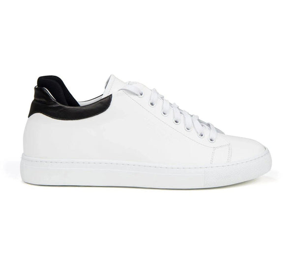 Genuine Leather Sneakers - WHITE - Ron Tomson