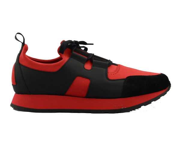 Hunter Runner Sneaker - Red Black - Ron Tomson ?id=15157359083605