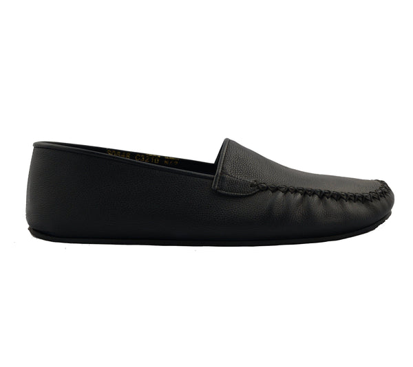 Leather Car Shoe - Navy - Ron Tomson ?id=15157366816853