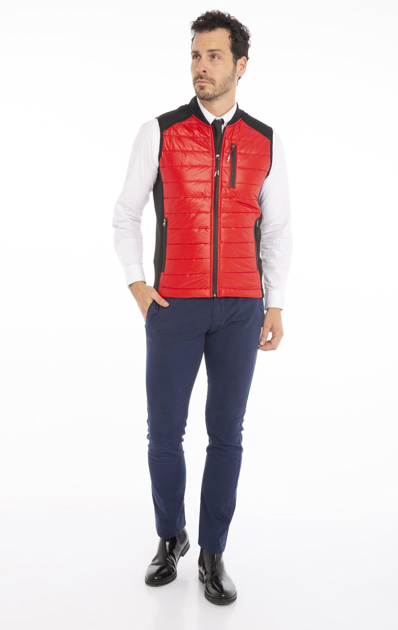 Light Padded Color Vest- More Color - Ron Tomson