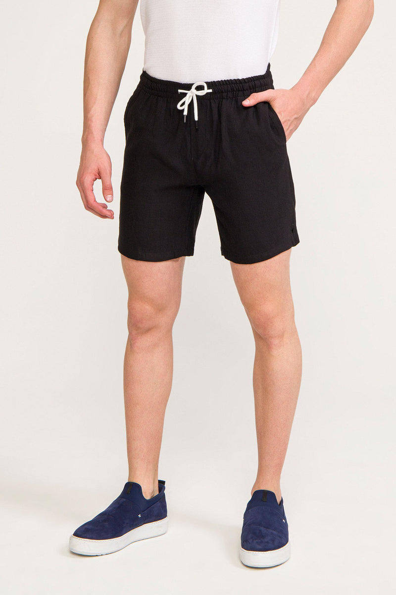 Lightweight Shorts - BLACK - Ron Tomson