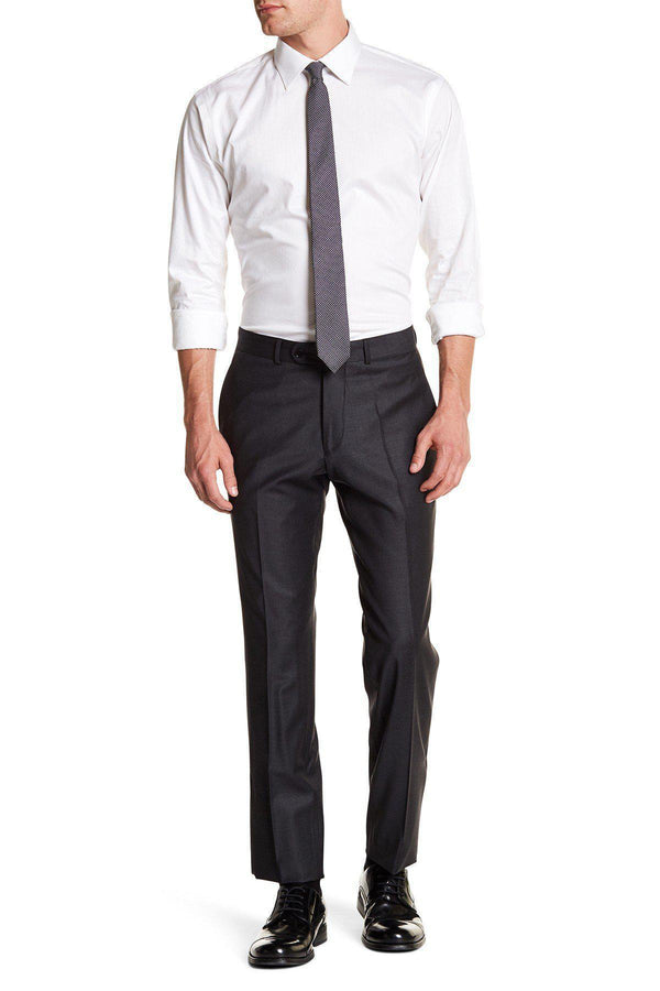 Merino Wool Dress Pants - Charcoal - Ron Tomson ?id=13859325902933