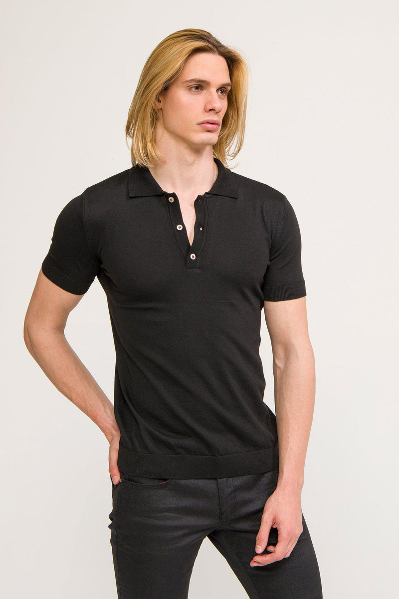 Polo Shirt - Black - Ron Tomson ?id=13860741578837