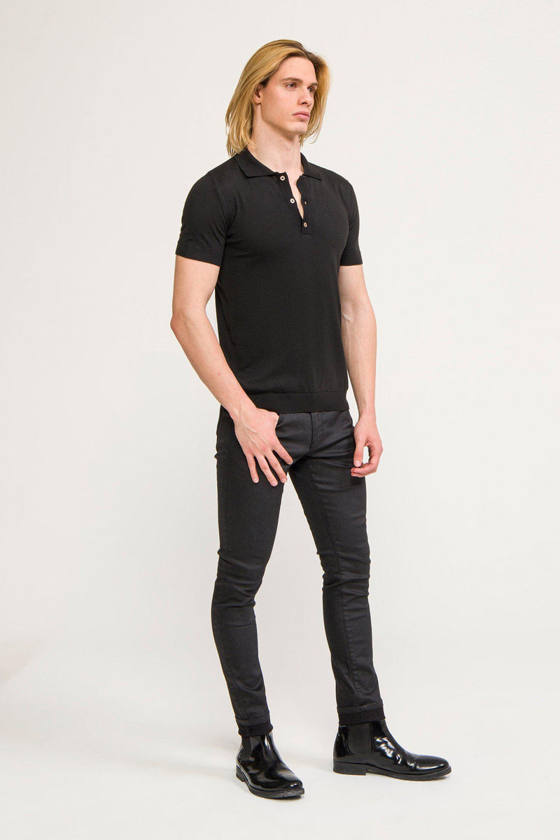Polo Shirt - Black - Ron Tomson ?id=13860742561877