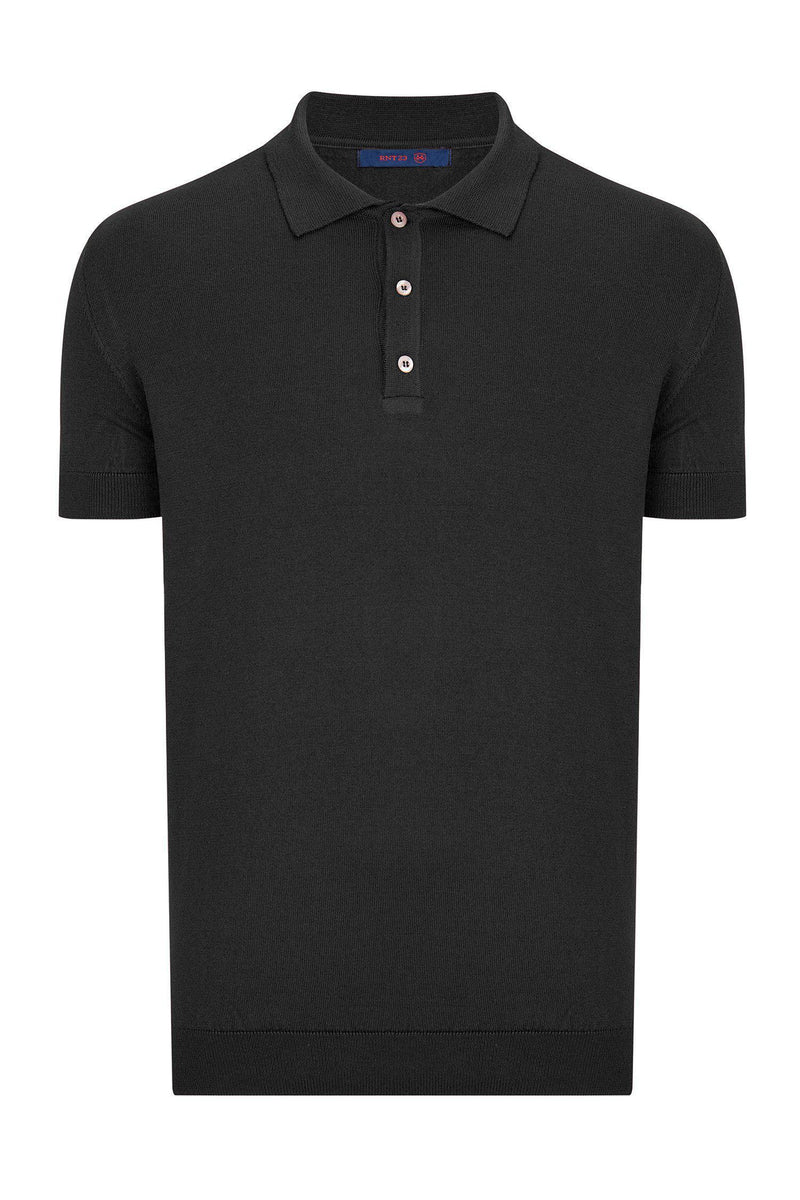 Polo Shirt - Black - Ron Tomson ?id=13860740464725