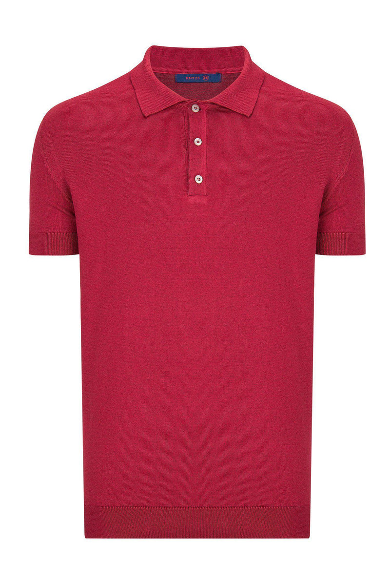Polo Shirt- Wine - Ron Tomson ?id=13860727586901