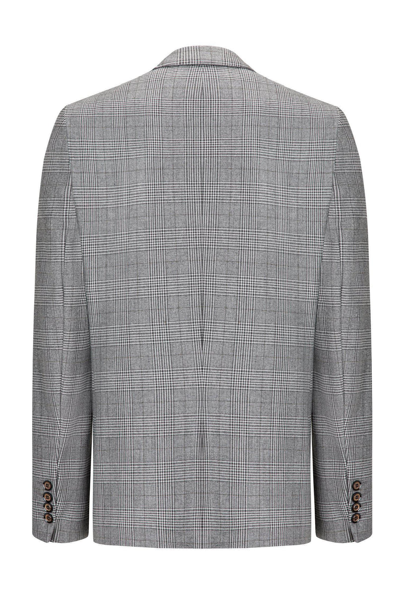 Prince of Wales Grey Black Blazer - Ron Tomson ?id=13860347936853
