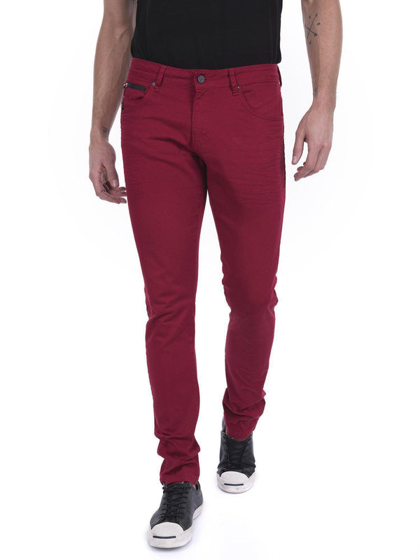 RT Inner Red Skinny Denim - Red - Ron Tomson ?id=15152694231125