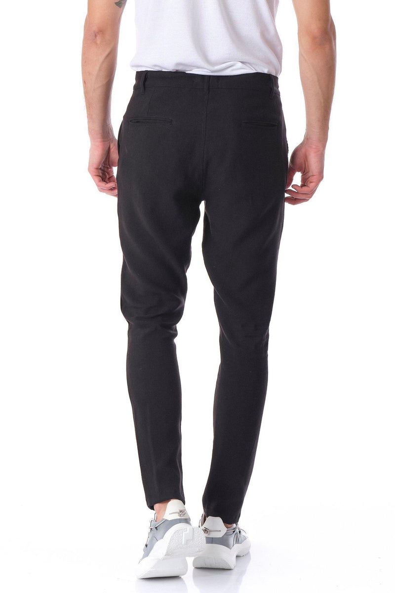 Solermo Lightweight Drawstring Trouser - Black - Ron Tomson ?id=14463822659669
