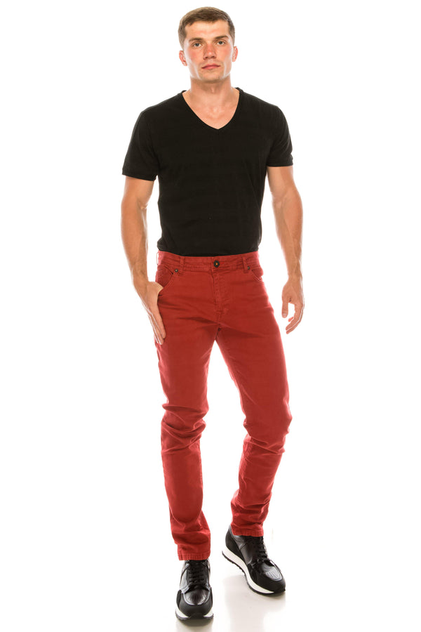 Spring Tapered Denim - Red - Ron Tomson ?id=14982376882261
