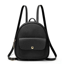 Load image into Gallery viewer, Fashion Women Shoulders Small Backpack Letter Purse Mobile Phone Simple Ladies Travel Bag Student School Backpacks
