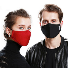 Load image into Gallery viewer, PM2.5 Anti Dust Mask Activated Carbon Filter Masks Windproof Mouth-muffle Proof Flu Face Masks With Filters