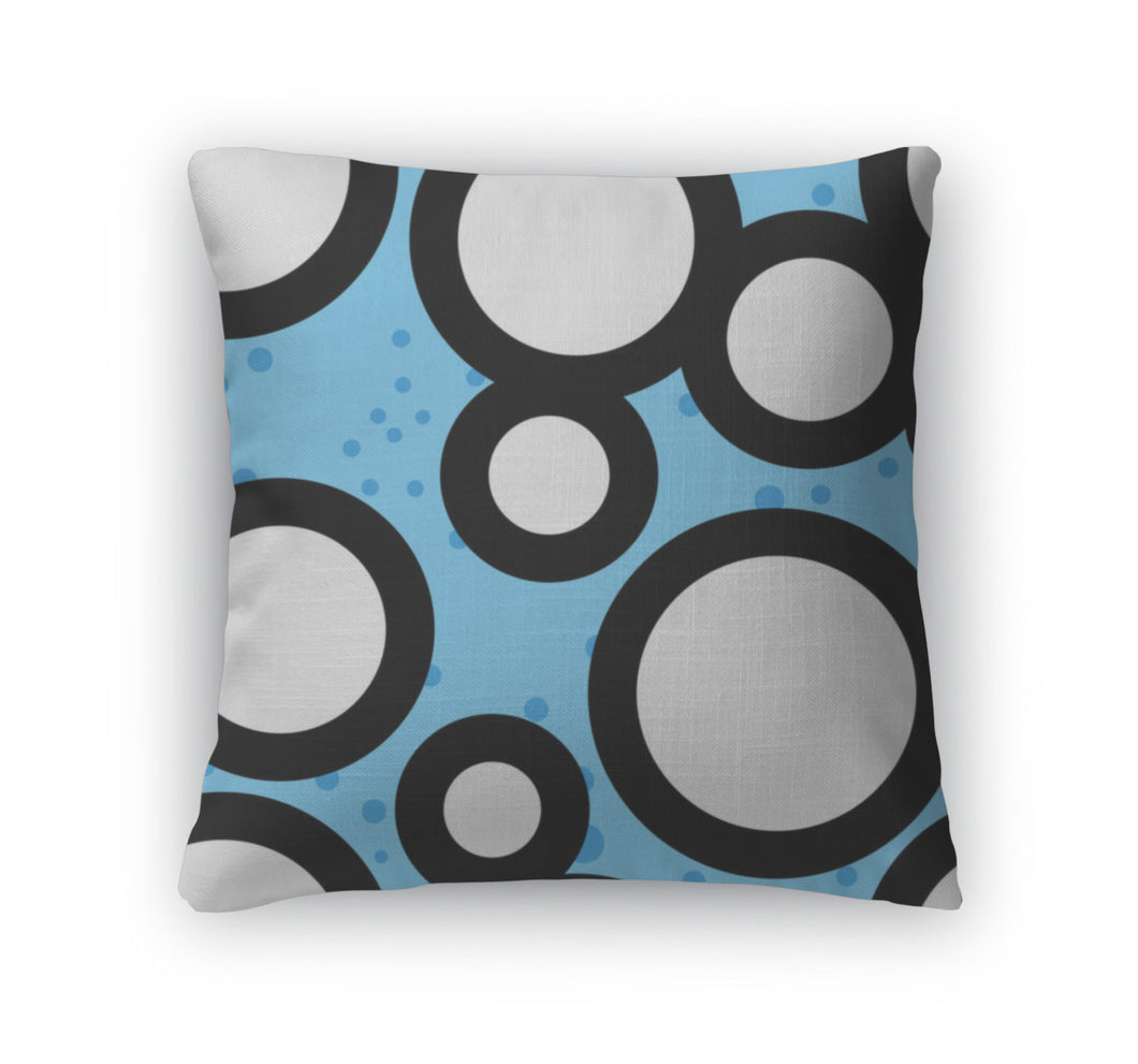 Throw Pillow, Abstract Pattern
