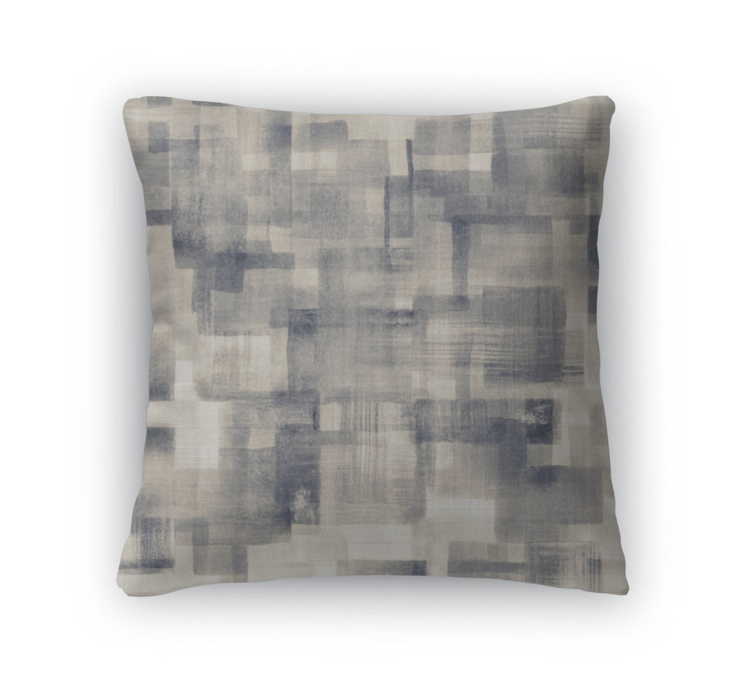 Throw Pillow, Light Grunge Stain