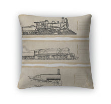 Load image into Gallery viewer, Throw Pillow, Locomotive