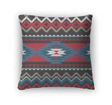 Load image into Gallery viewer, Throw Pillow, Folk Ornamental Pattern