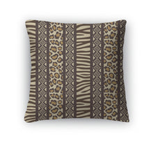 Load image into Gallery viewer, Throw Pillow, African Style With Wild Animal Skin Patterns