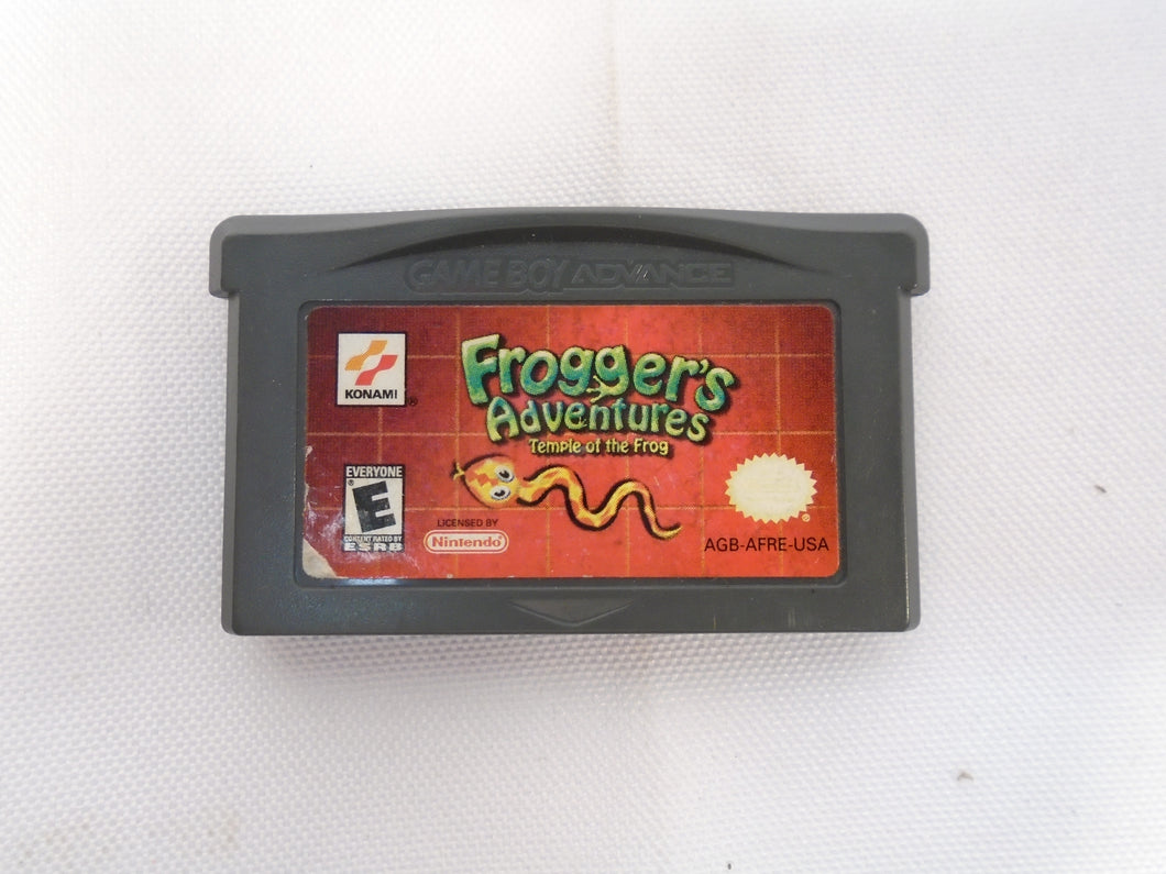 Frogger's Adventures: Temple of the Frog - Nintendo Game Boy Advance - Fair Condition