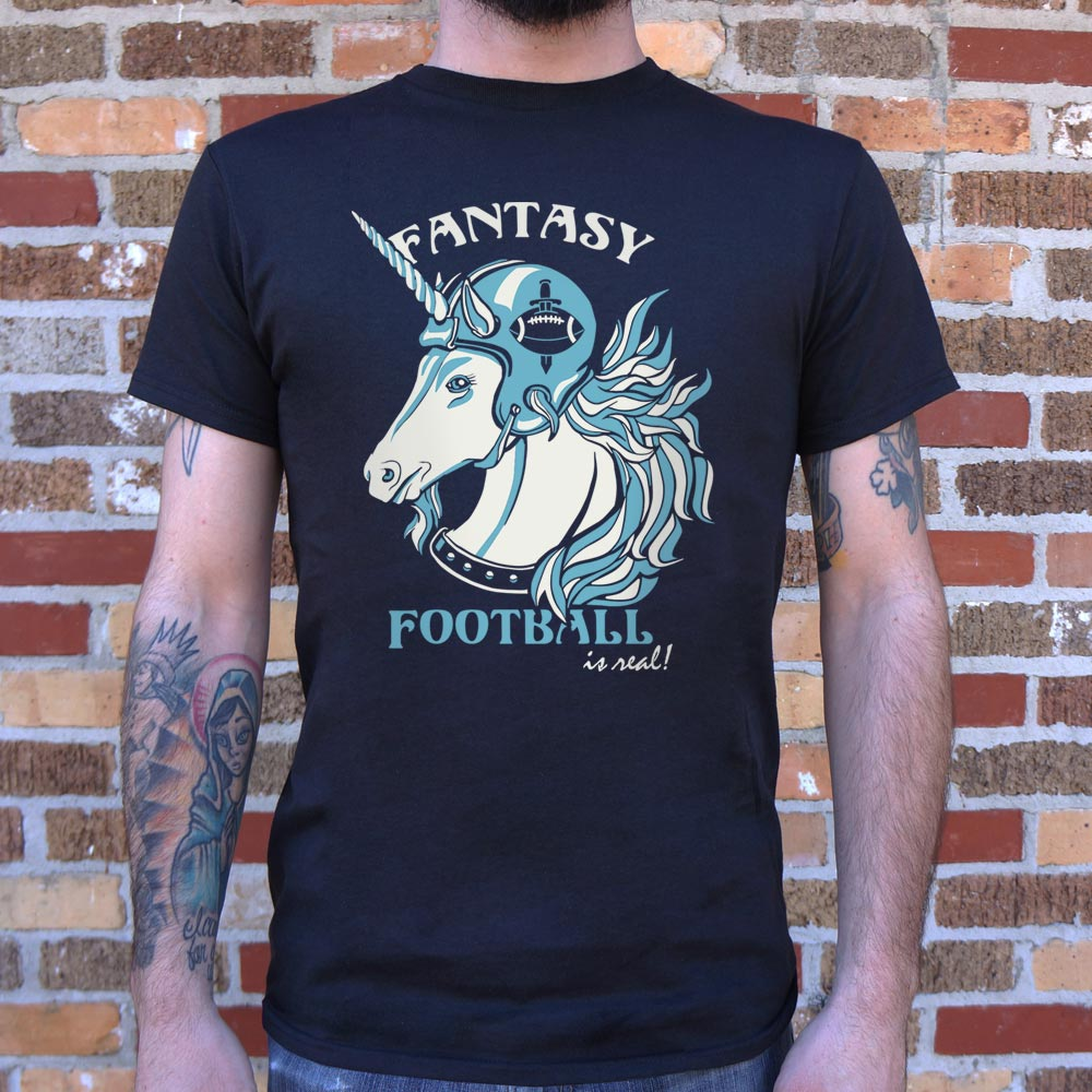 Fantasy Football Is Real T-Shirt (Mens)