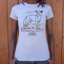 Load image into Gallery viewer, Coyote Canis Latrans T-Shirt (Ladies)