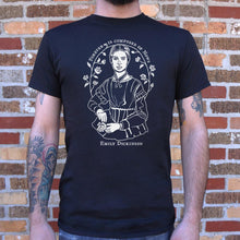 Load image into Gallery viewer, Emily Dickinson Quote T-Shirt (Mens)