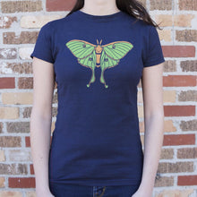 Load image into Gallery viewer, Luna Moth T-Shirt (Ladies)