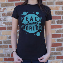 Load image into Gallery viewer, Peace Among Worlds T-Shirt (Ladies)