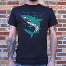 Load image into Gallery viewer, Polygon Shark T-Shirt (Mens)