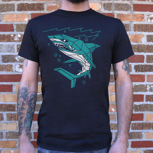 Polygon Shark T-Shirt (Mens)