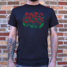 Load image into Gallery viewer, Poppies T-Shirt (Mens)