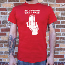 Load image into Gallery viewer, Read Between The Lines T-Shirt (Mens)