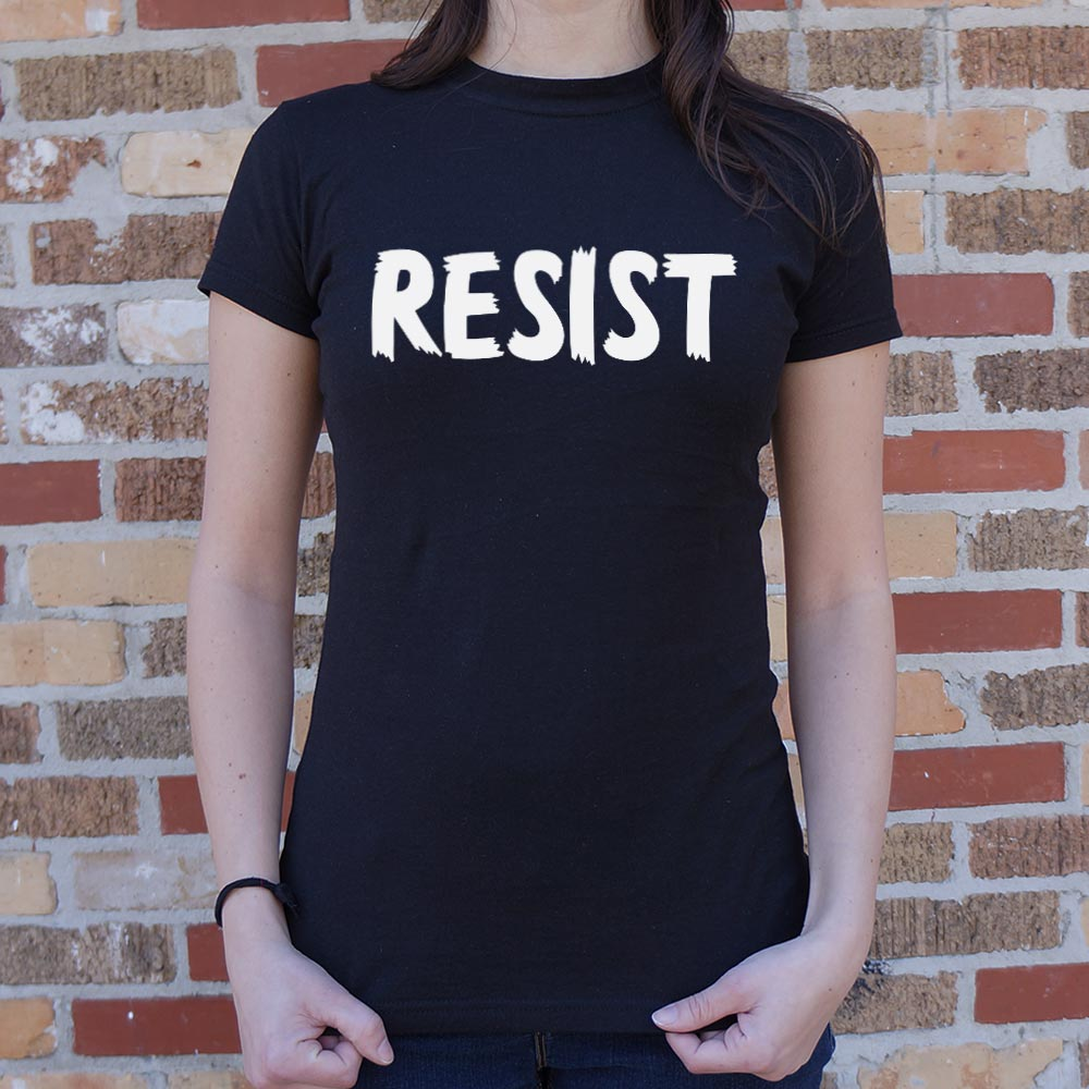 Resist T-Shirt (Ladies)