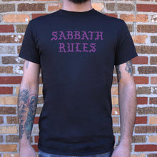 Load image into Gallery viewer, Sabbath Rules T-Shirt (Mens)
