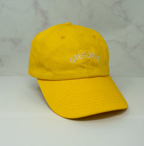 Gregorys Hat - Yellow w/ Text