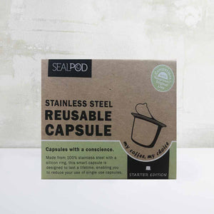 Sealpod - Reusable Nespresso Pod Coffee Combo