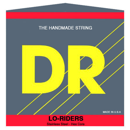 DR LO-RIDER Stainless Steel Bass Strings