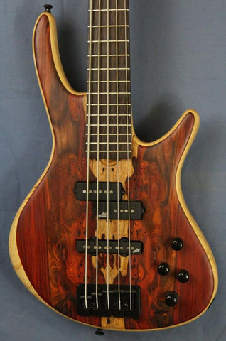 (SOLD) Roscoe Century Standard Plus 5-String Fretted Bass