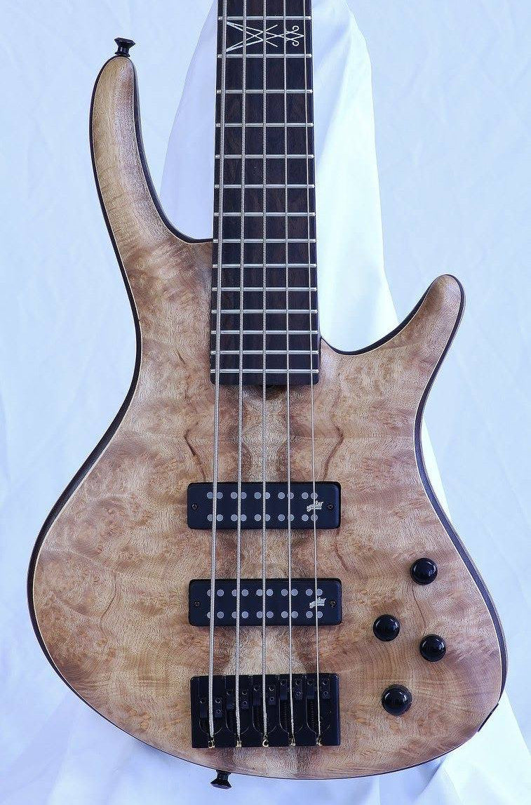 (Custom) Roscoe Century Signature 5-String Fretted Bass